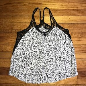 Tops - 🖤 Spotted leopard top 🖤